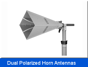 Dual Polarized Horn Antennas