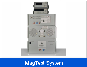 MagTest System to test the immunity against magnetic fields acc.  MIL-461 E, ISO 11452-8, EN 61000-4-8, SAE J551-17 etc.